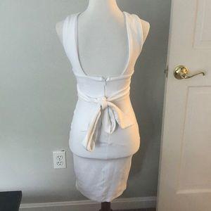 Lulu's Glam Affair White Bodycon Dress Size S